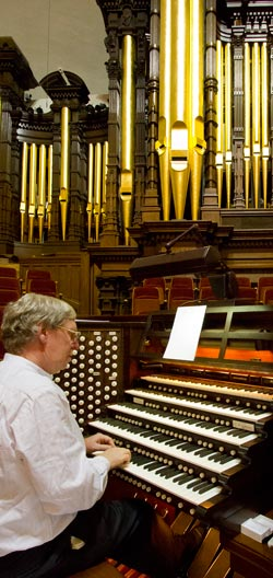 Martin Setchell at the Mormon Tabernacle Pipe Organ
