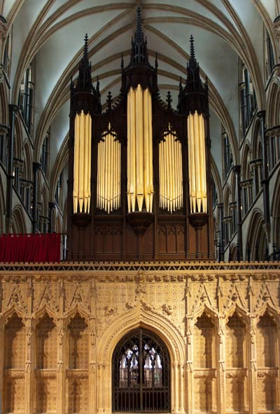 Lincoln Cathedral pipe organ