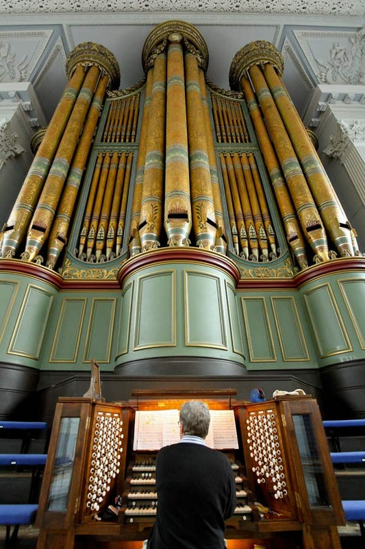 Birmingham town hall pipe organ