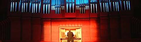The Christchurch town Hall pipe organ played by Martin Setchell